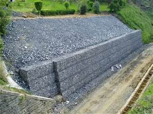 Mur De Soutenement En Gabion : espace gabion combine sout nement et v g tale ~ Melissatoandfro.com Idées de Décoration