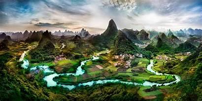 Yangshuo China River Li Guilin Guangxi Karst
