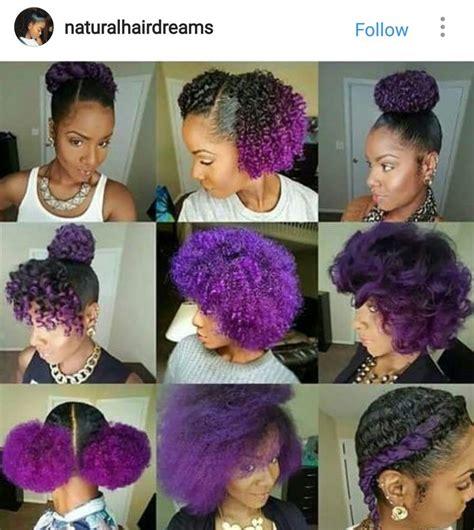 Best 25 Purple Natural Hair Ideas On Pinterest Purple