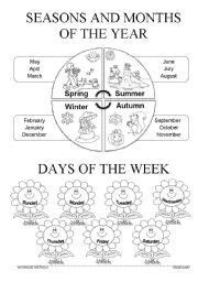 1000 images about seasons on pinterest worksheets four seasons and weather