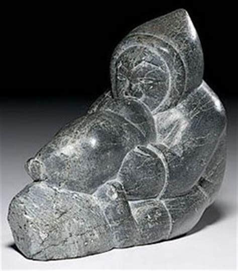 Soapstone Value by Carving Eskimo Smiler Isa Soapstone Seal Float