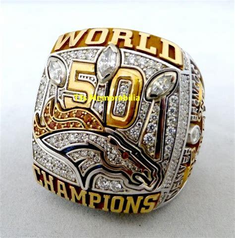 2015 Denver Broncos Super Bowl 50 Championship Ring Buy