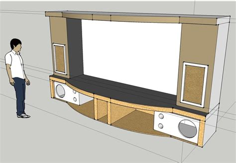 pj screen stage sub enclosure design page 4 home theater and systems