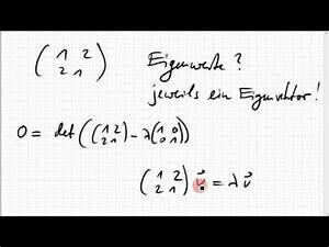 Eigenwerte Einer Matrix Berechnen : 07b 9 eigenwerte eigenvektoren einer 2x2 matrix youtube ~ Themetempest.com Abrechnung