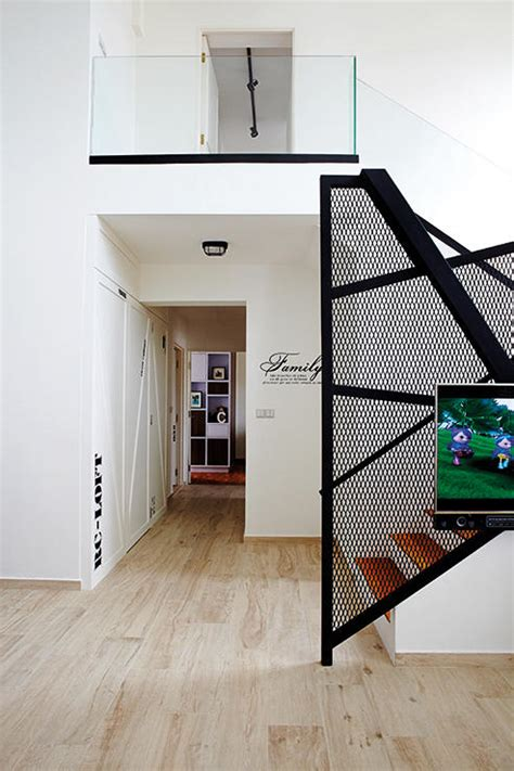 Metal Wall Cabinets by House Tour This Is What A Five Room Hdb Duplex Penthouse