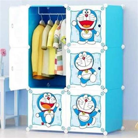 Baby Clothes Cupboard by 6 Cubic Diy Doraemon Plastic Baby Clothes Cabinet Cupboard