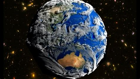earth view  space amazing nasa video james  pan flute youtube