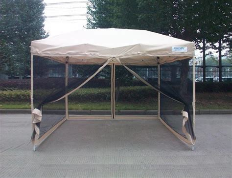 canopy with screen quictent screen 174 ez pop up gazebo tent canopy mesh
