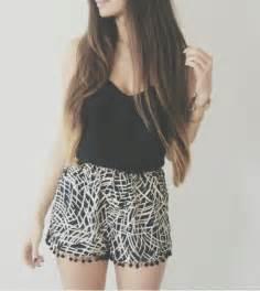 shorts short tank top shirt thin shorts cute summer