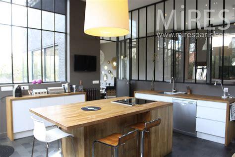 verriere entre cuisine et salon verriere entre cuisine et salon maison design bahbe com