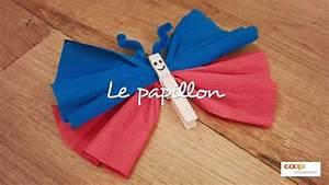 Bricolage Facile En Papier : bricolage le papillon ~ Mglfilm.com Idées de Décoration