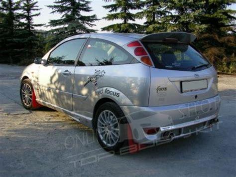 ford focus mk rear bumper tuning