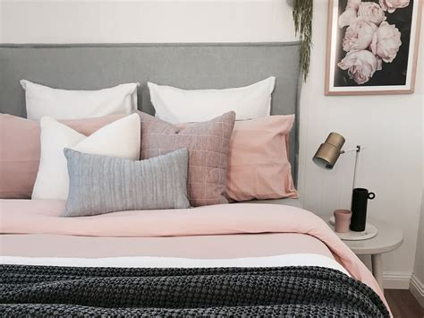 pink bedroom cushions style hacks how to style a bed with pretty products 12835 | cushions king size bed
