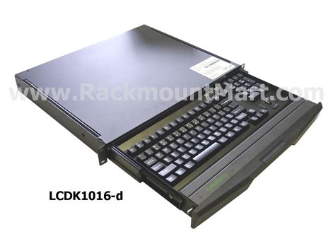 Lcdk1016 Rack Mount Keyboard Drawer, Xymphony Rackmount
