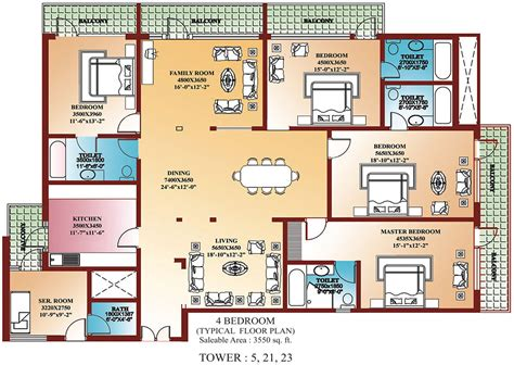 4 bedroom floor plans one welcome to rwa of la tropicana