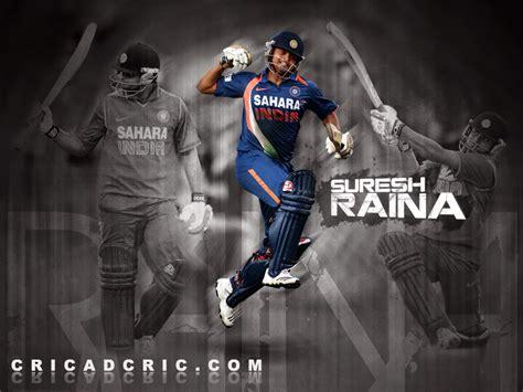 Indian Cricket Player Suresh Raina Hd Wallpaper
