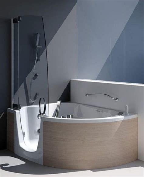 Small Soaking Tub Shower Combo Reviews  Bathroom Design