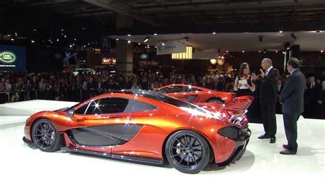Mclaren P1 Unveil At The Paris Motor Show 2012