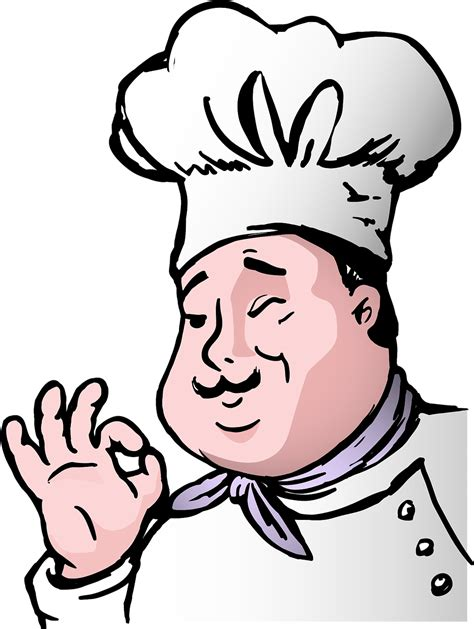 cooking clipart head chef cooking head chef transparent