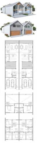 smart placement two storey duplex house plans ideas 25 best ideas about duplex house plans on