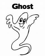 Coloring Ghost Pages Halloween Printable Popular Coloringhome sketch template