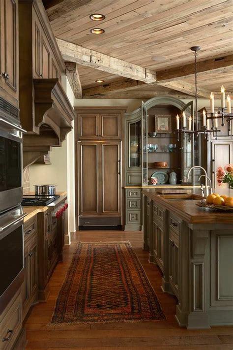 deco cuisine rustique cuisine de charme idées pour la cuisine rustique moderne