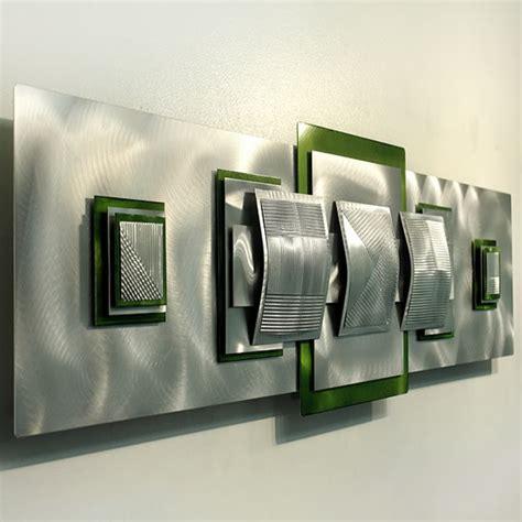 le bureau contemporain la décoration murale en métal touches d 39 élégance pour l