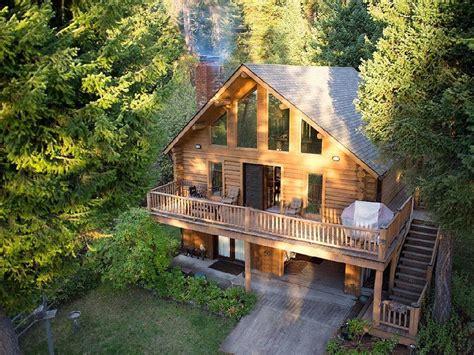 lake cabin vacation home flathead lake log cabin polson mt