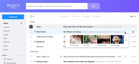 Yahoo Mail Rolls Out A Rebuilt, Redesigned Service