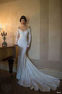 berta 2015 bridal collection long sleeve wedding dresses With long sleeve lace wedding dress