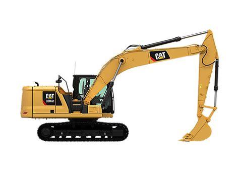 caterpillar  gc excavators  sale
