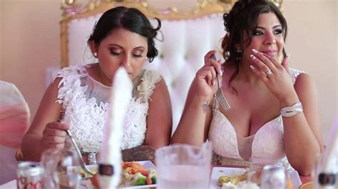 Lesbian Wedding Andrea And Danielle Youtube