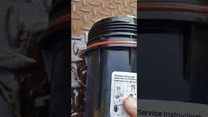 Dodge Ram 2500 3500 Canister Fuel Filter Change