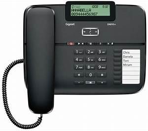 Gigaset DA810A Telefon mit Anrufbeantworter,
