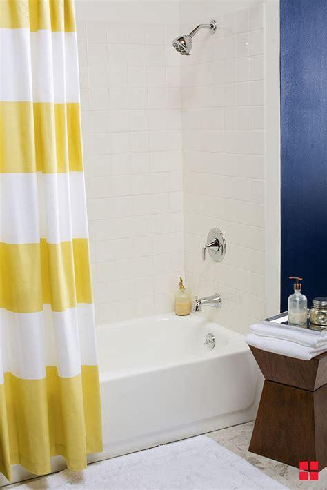 tile tub bathroom bathtub update kit paint refinishing fiberglass rustoleum budget room projects angelbernal 2021 brands