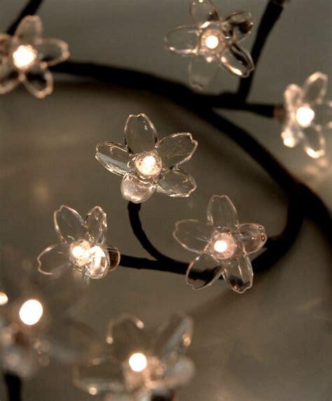 clear crystal led light garland flower garland led crystal 39in