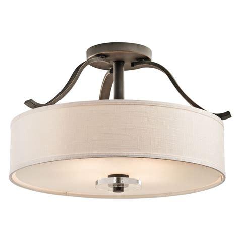 kichler 42486oz olde bronze leighton 4 light semi flush