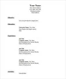 resume template pdf free 40 blank resume templates free sles exles format download free premium templates