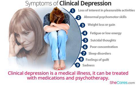 Clinical Depression Symptoms