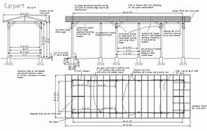 Woodwork Steel Carport Construction Plans PDF Plans