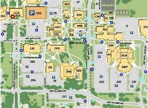 USF Tampa Campus Map Building