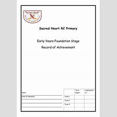 Individual Tracking Sheet And Overview(s) Eyfs By Amymcglade  Teaching Resources Tes