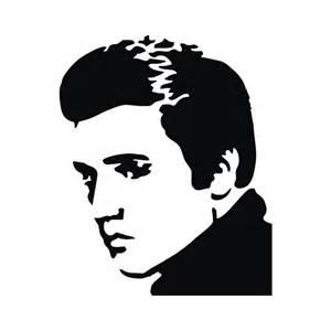 Elvis Presley Silhouette Clip Art