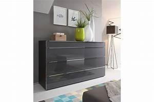 Möbel De Kommoden : nolte alegro style kommode graphit m bel letz ihr ~ Watch28wear.com Haus und Dekorationen