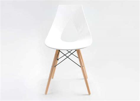 pied de bureau bois chaise design scandinave blanche eiffel noir rubann w