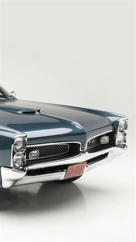Classic Pontiac Wallpaper by Classic Car 1967 Pontiac Tempest Gto Wallpaper For 1080x1920