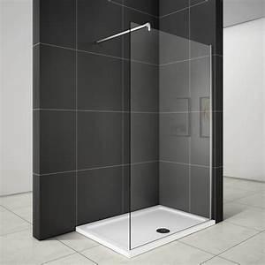Duschwand Glas : walk in duschabtrennung duschwand 10mm nano glas 90x200cm ~ Pilothousefishingboats.com Haus und Dekorationen