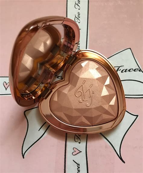 too faced ray of rose gold fotd with too faced born this way foundation and