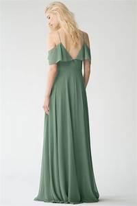 Milana Bridesmaids Dress By Yoo Eucalyptus Green