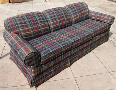 plaid sofas for sale uhuru furniture collectibles sold mad about plaid sofa